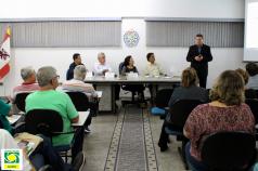 Reunião mensal da Diretoria Executiva - Abril