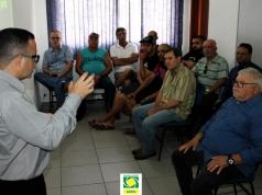 Empresários da Área Continental conhecem benefícios e propostas do Sicredi para São Vicente