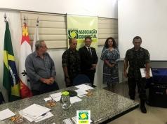 Reunião mensal do 1º Conselho de Segurança de São Vicente