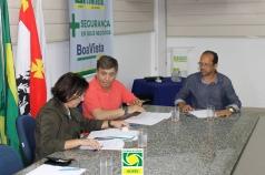 Reunião mensal da diretoria da ACIESV