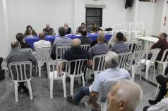 Reunião mensal do 1º Conselho Municipal de Segurança