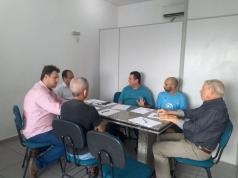 O novo presidente da ACIESV, Alcides Antoneli, esteve na subsede da ACIESV, na Área Continental