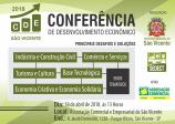Conferência de Desenvolvimento Econômico - Principais desafios e soluções