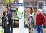Inauguração de ruas no Parque São Vicente