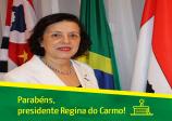 Parabéns, presidente Regina do Carmo!