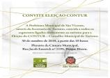 Convite - Eleições CONTUR