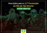 Inscrições para a 37ª Encenação da Vila de São Vicente estão abertas
