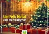 Feliz Natal com muita alegria!