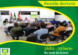 Reunião diretoria:16/01 - 19 horas, na sede da ACIESV