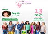 Palestra Mulheres de Sucesso acontece no dia 13 de março, na ACIESV