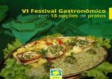 O VI Festival Gastronômico de São Vicente vai até dia 31 de maio