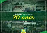 Associação Comercial de São Vicente (ACIESV) completa 70 anos de fundação