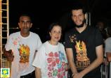 Presidente da ACIESV, Regina do Carmo, prestigia 4ª São Vicente Night Run