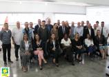 ACIESV sedia reunião com presidentes do litoral, FACESP e Boa Vista SCPC